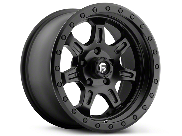 Fuel Wheels JM2 Matte Black 6-Lug Wheel - 17x8.5 (99-19 Silverado 1500)