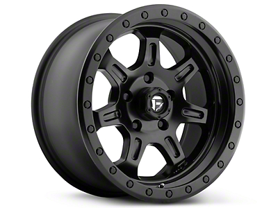 Fuel Wheels JM2 Matte Black 6-Lug Wheel - 17x8.5 (99-18 Silverado 1500)
