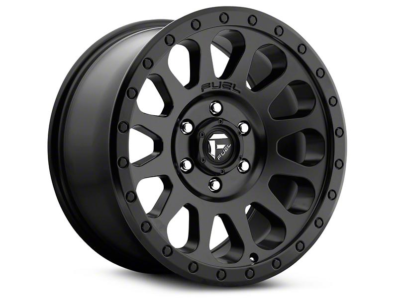 Fuel Wheels Vector Matte Black 6-Lug Wheel - 17x8.5 (99-18 Silverado 1500)