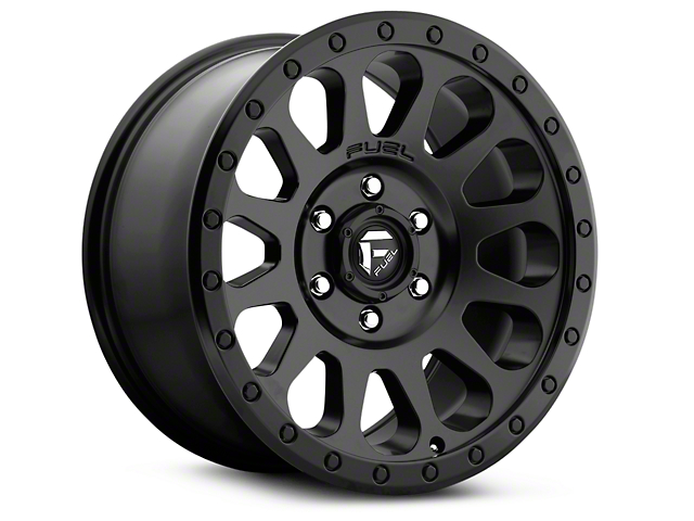 Fuel Wheels Vector Matte Black 6-Lug Wheel - 17x8.5 (99-19 Silverado 1500)
