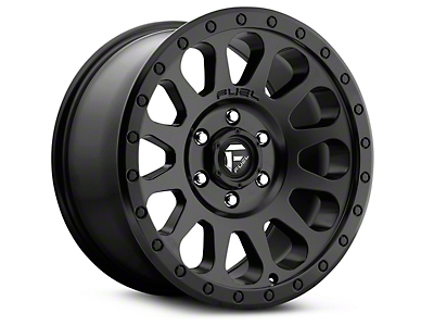 Fuel Wheels Vector Matte Black 6-Lug Wheel - 17x8.5 (99-18 Silverado 1500)