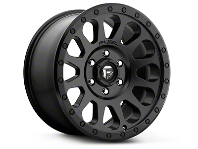 Fuel Wheels Vector Matte Black 6-Lug Wheel - 18x9 (99-18 Silverado 1500)