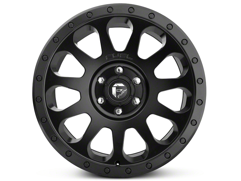 Fuel Wheels Vector Matte Black 6-Lug Wheel - 20x9 (99-19 Silverado 1500)