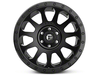 Fuel Wheels Vector Matte Black 6-Lug Wheel - 20x9 (07-18 Silverado 1500)