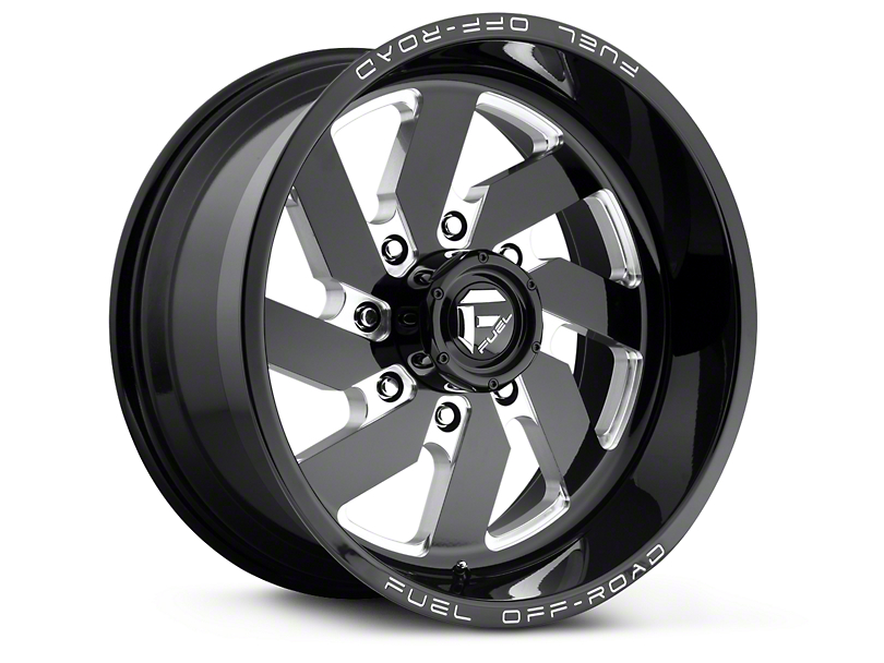 Fuel Wheels Turbo Black Milled 6-Lug Wheel - 18x9 (99-18 Silverado 1500)