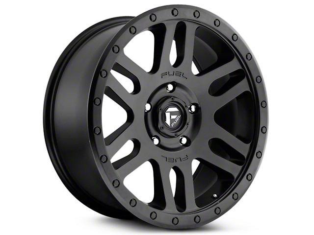 Fuel Wheels Recoil Matte Black 6-Lug Wheel - 20x9 (07-18 Silverado 1500)