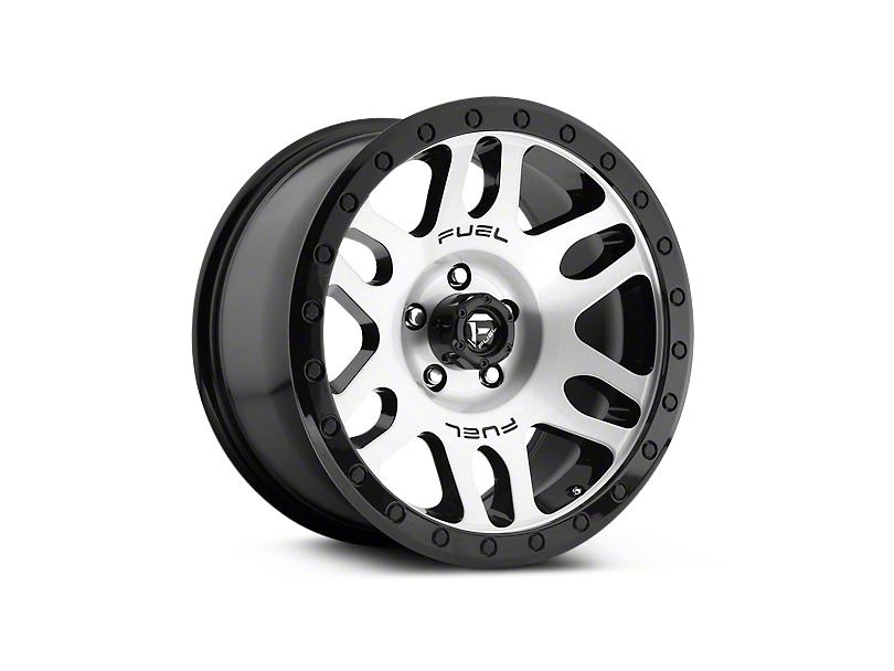 Fuel Wheels Recoil Brushed w/ Black Ring 6-Lug Wheel - 20x9 (07-18 Silverado 1500)