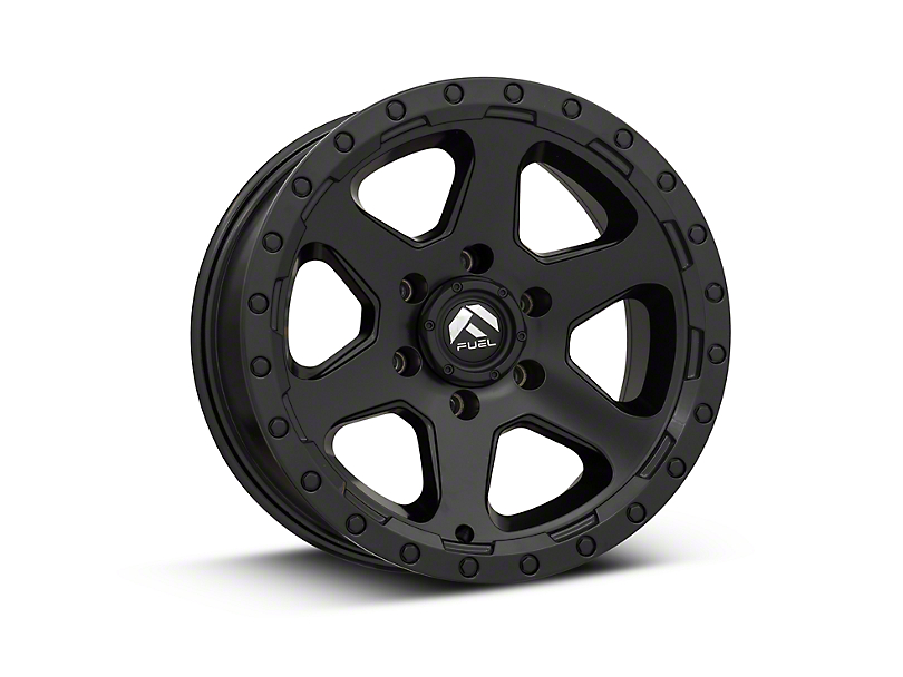 Fuel Wheels Ripper Matte Black 6-Lug Wheel - 17x9 (99-18 Silverado 1500)
