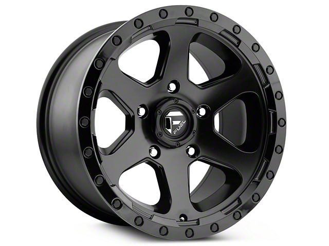 Fuel Wheels Ripper Matte Black 6-Lug Wheel - 20x9 (99-19 Silverado 1500)