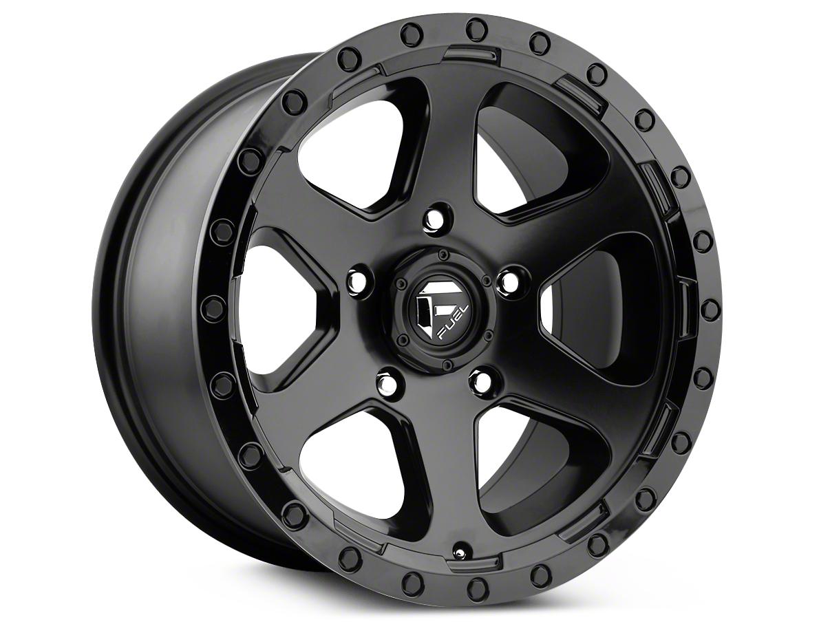 Fuel Wheels Ripper Matte Black 6-Lug Wheel - 20x9 (99-18 Silverado 1500)