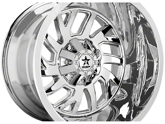 RBP 65R Glock Chrome 6-Lug Wheel - 22x14; -76mm Offset (99-19 Silverado 1500)