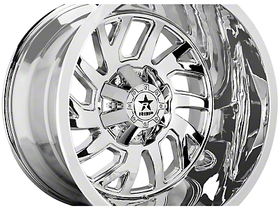 RBP 65R Glock Chrome 6-Lug Wheel - 22x14 (99-18 Silverado 1500)