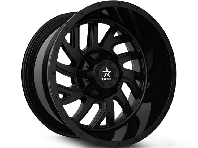 RBP 65R Glock Full Black 6-Lug Wheel - 22x14 (99-19 Silverado 1500)
