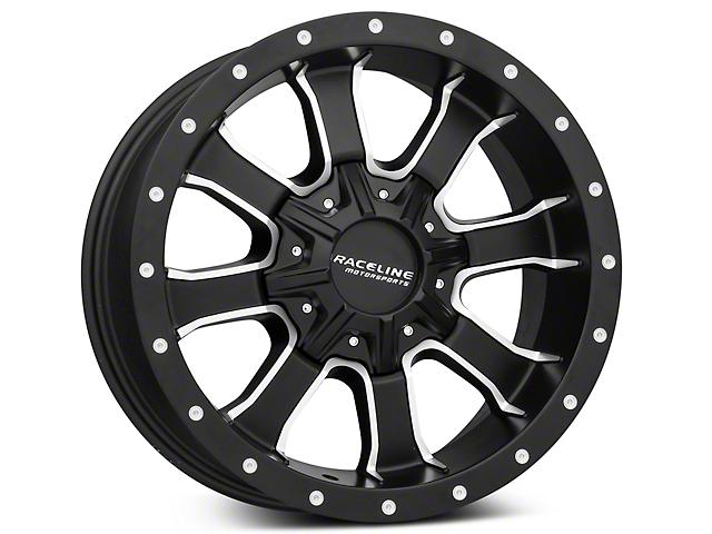 Raceline Mamba Black Milled 6-Lug Wheel - 18x9 (99-18 Silverado 1500)