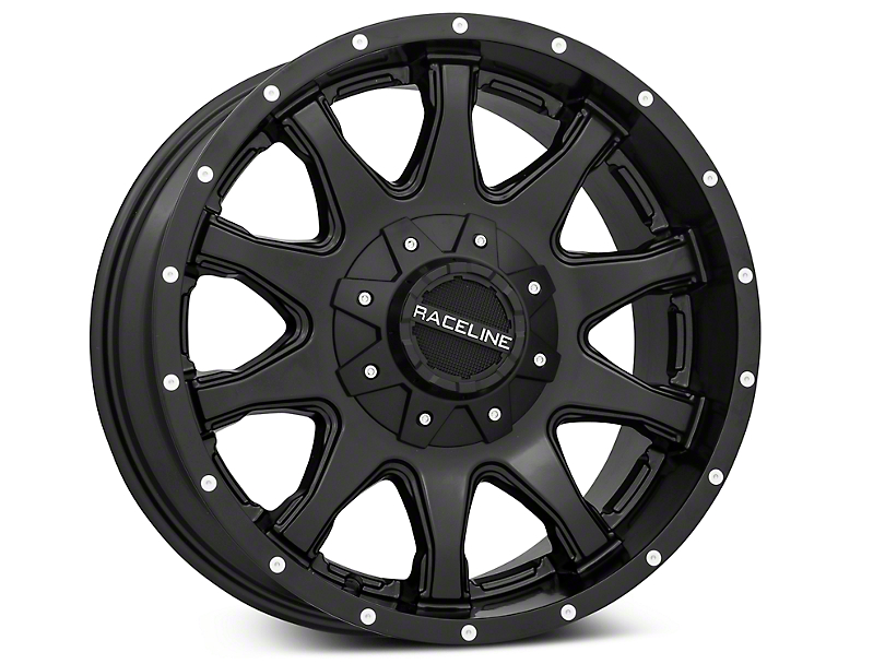 Raceline Shift Black 6-Lug Wheel - 18x9 (99-19 Silverado 1500)