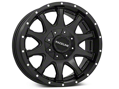 Raceline Shift Black 6-Lug Wheel - 18x9 (07-18 Silverado 1500)