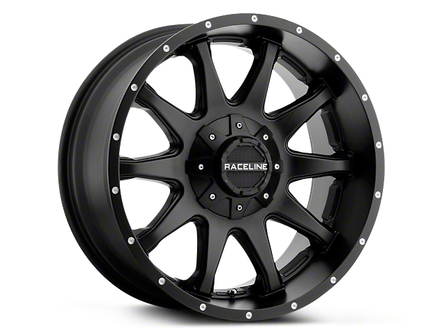 Raceline Shift Black 6-Lug Wheel - 20x9 (99-19 Silverado 1500)