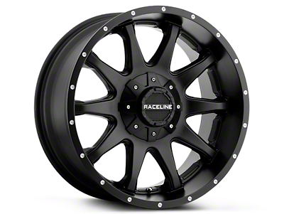 Raceline Shift Black 6-Lug Wheel - 20x9 (99-18 Silverado 1500)