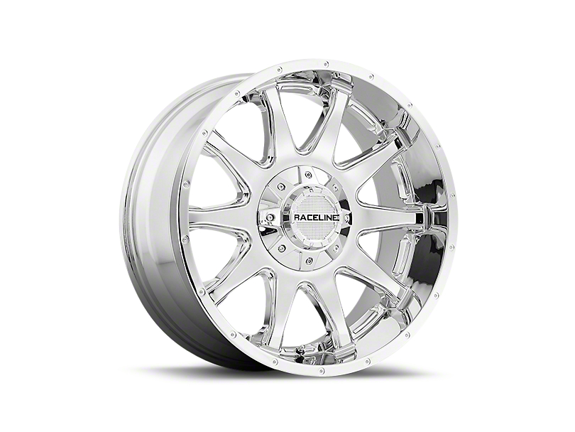 Raceline Shift Chrome 6-Lug Wheel - 18x9 (99-19 Silverado 1500)