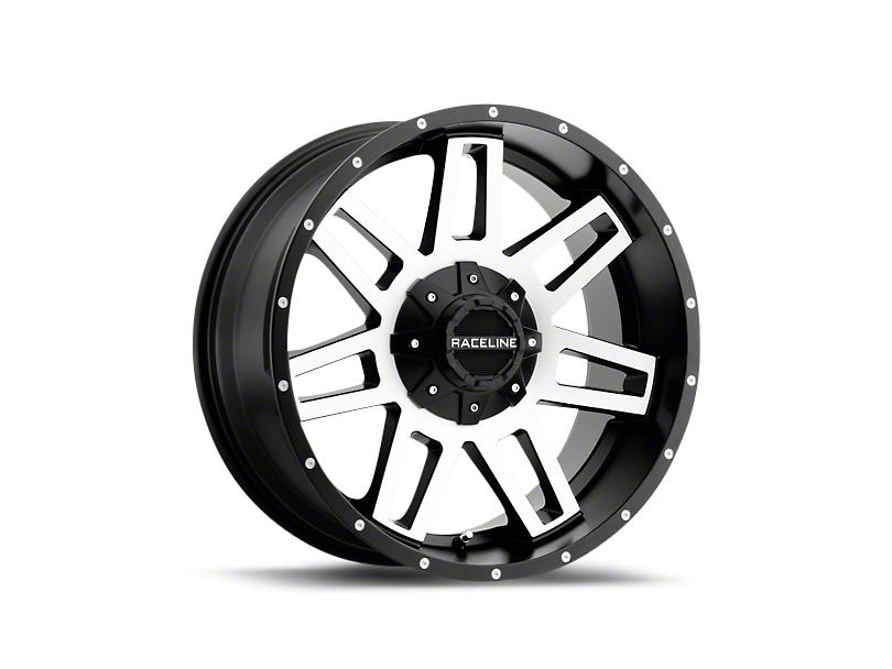Raceline Injector Black Machined 6-Lug Wheel - 18x9 (99-18 Silverado 1500)