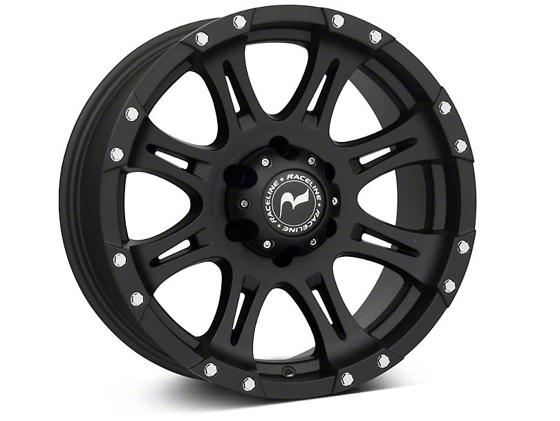 Raceline Raptor Black 6-Lug Wheel - 18x9 (99-18 Silverado 1500)