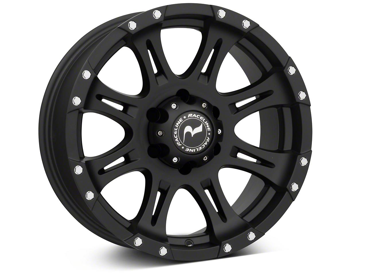 Raceline Raptor Black 6-Lug Wheel - 18x9 (07-18 Silverado 1500)