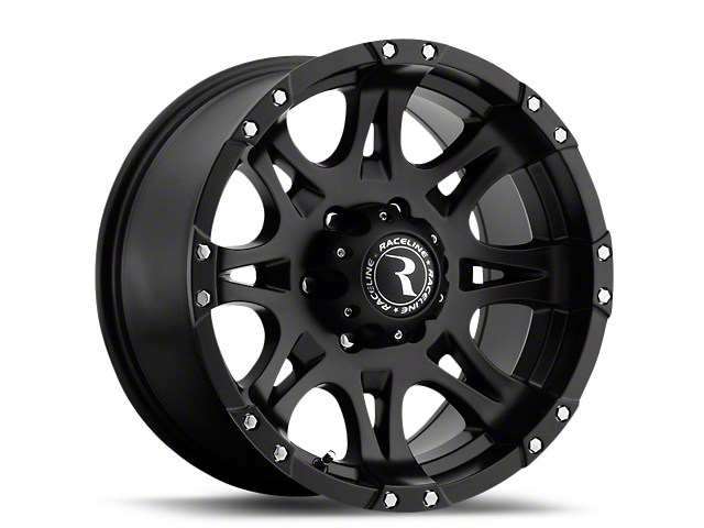 Raceline Raptor Black 6-Lug Wheel - 20x9 (99-19 Silverado 1500)