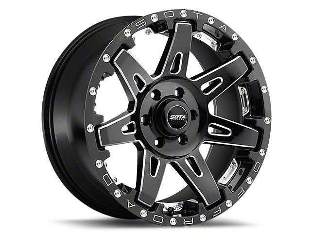 SOTA Off Road B.A.T.L. Death Metal 6-Lug Wheel - 20x9 (99-19 Silverado 1500)