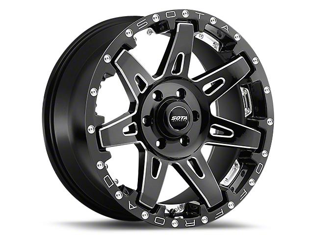 SOTA Off Road BATL Death Metal 6-Lug Wheel - 20x9 (99-18 Silverado 1500)