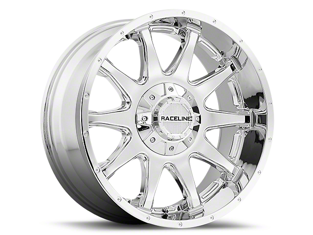 Raceline Shift Chrome 6-Lug Wheel; 20x9 (99-20 Silverado 1500)