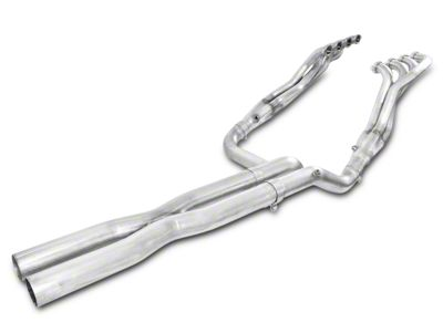 Stainless Works 1-7/8 in. Headers w/ Off-Road X-Pipe - Performance Connect (07-13 4.8L, 5.3L, 6.2L; 07-09 6.0L Silverado 1500)