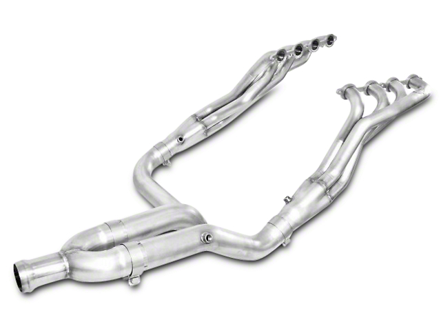 Stainless Works 1-7/8 in. Headers w/ Off-Road Y-Pipe - Factory Connect (14-18 5.3L Silverado 1500)