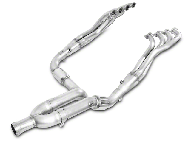 Stainless Works 1-7/8 in. Headers w/ Catted Y-Pipe - Factory Connect (14-18 5.3L Silverado 1500)