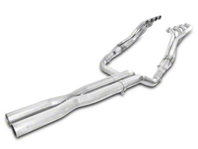 Stainless Works 1-7/8 in. Headers w/ Off-Road X-Pipe - Performance Connect (14-18 5.3L, 6.2L Silverado 1500)