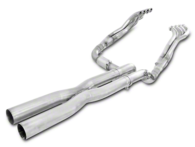 Stainless Works 1-7/8 in. Headers w/ Catted X-Pipe - Performance Connect (14-18 5.3L, 6.2L Silverado 1500)