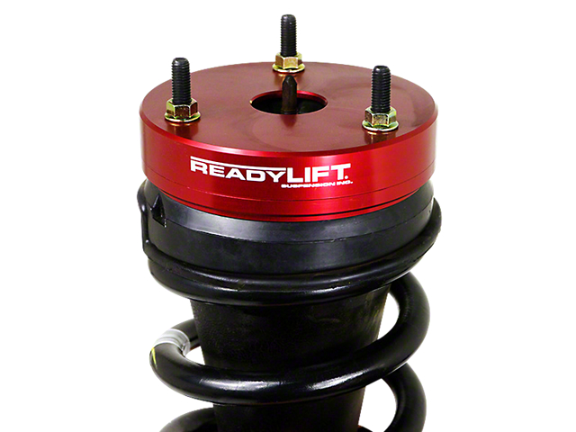 ReadyLIFT 2.25 Inch Billet Aluminum Leveling Kit; Red (07-13 2WD/4WD Silverado 1500)