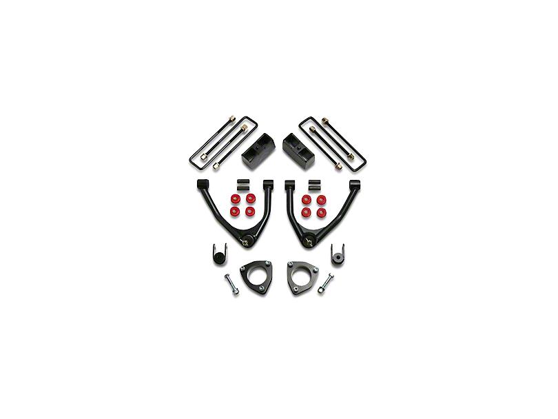 ReadyLIFT 4 in. Front / 1.75 in. Rear SST Lift Kit (07-18 2WD Silverado 1500 w/ Stock Cast Steel Control Arms)