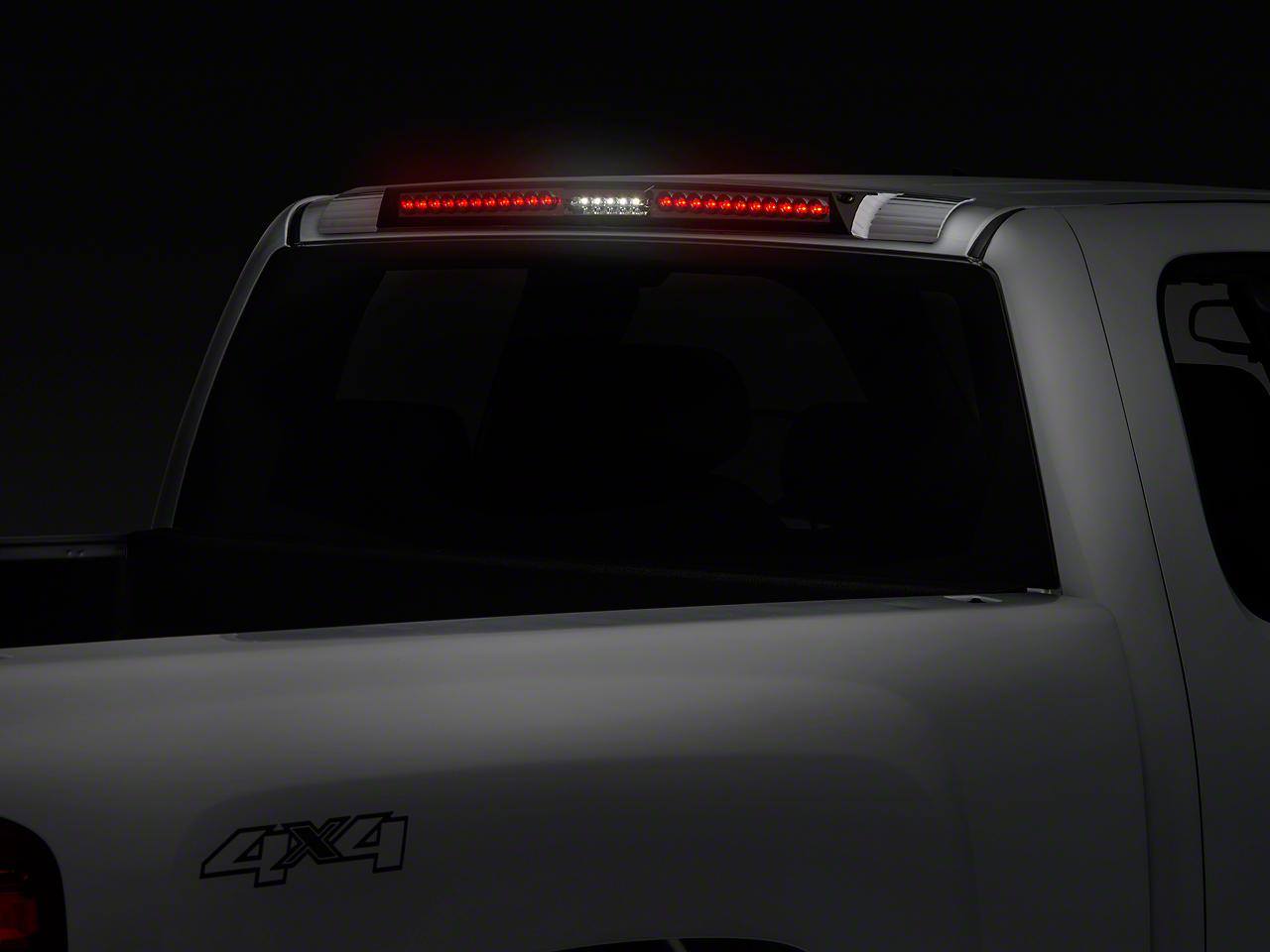 Axial MEGA Platinum Smoke LED Third Brake Light w/ Red Trim (07-13 Silverado 1500)