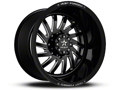 RBP 78R Uzi Gloss Black Machined 6-Lug Wheel - 20x9 (07-18 Silverado 1500)