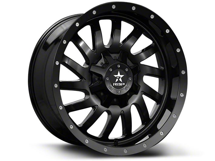 RBP 78R Uzi Gloss Black 6-Lug Wheel - 20x9 (07-18 Silverado 1500)