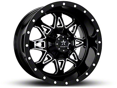 RBP 79R Assault Gloss Black Machined 6-Lug Wheel - 20x10 (07-18 Silverado 1500)