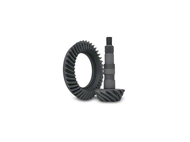 Yukon Gear 8.5-Inch and 8.6-Inch Rear Axle Ring and Pinion Gear Kit; 3.23 Gear Ratio (07-18 Silverado 1500)