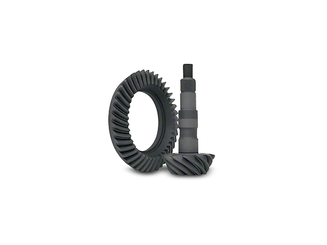Yukon Gear 8.5-Inch and 8.6-Inch Rear Axle Ring and Pinion Gear Kit; 4.11 Gear Ratio (07-18 Silverado 1500)