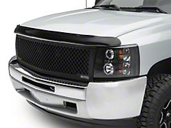Weathertech Stone & Bug Deflector - Dark Smoke (07-13 Silverado 1500, Excluding Hybrid)
