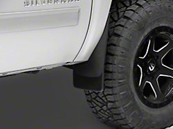Weathertech No Drill Front Mud Flaps - Black (07-13 Silverado 1500 w/o Fender Flares)