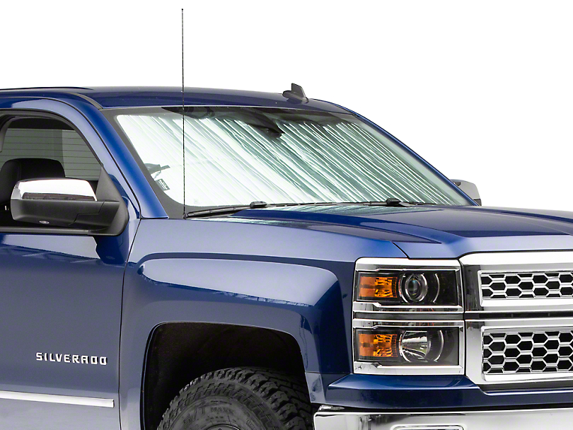 Weathertech TechShade Windshield Sun Shade (14-18 Silverado 1500)