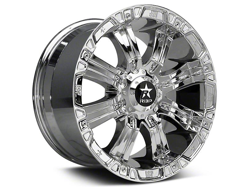 RBP 94R Chrome w/ Black Inserts 6-Lug Wheel - 18x10 (99-19 Silverado 1500)