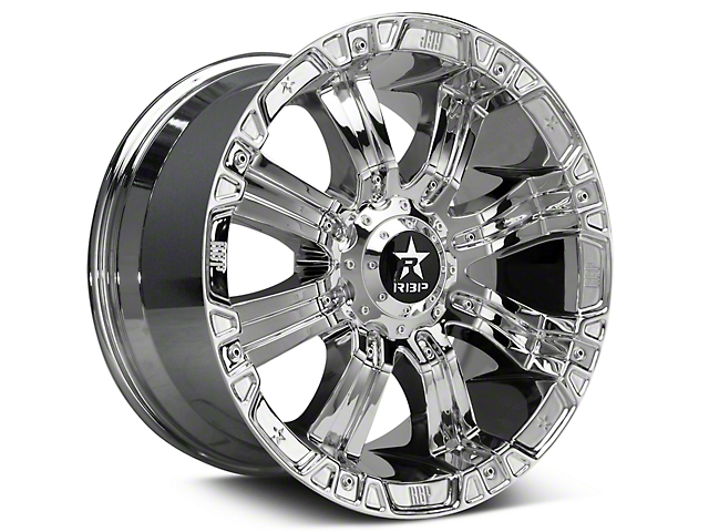 RBP 94R Chrome w/ Black Inserts 6-Lug Wheel - 20x10 (99-19 Silverado 1500)