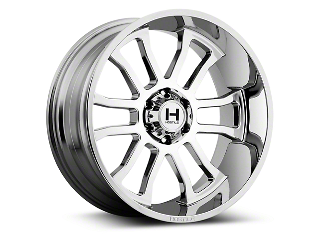 Hostile Gauntlet Armor Plated 6-Lug Wheel - 22x10 (07-18 Silverado 1500)