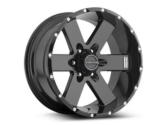 Hostile MOAB Asphalt 6-Lug Wheel; 17x9 (07-18 Silverado 1500)